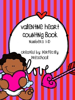 Valentine Heart Counting Book