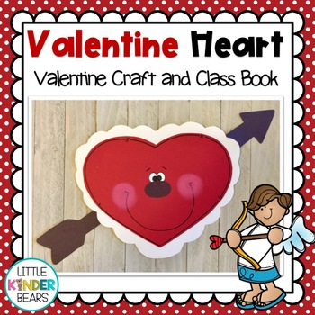 Valentine Heart Craft: Class Book: Valentines Day