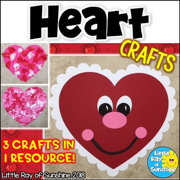 Valentine Heart Crafts for February