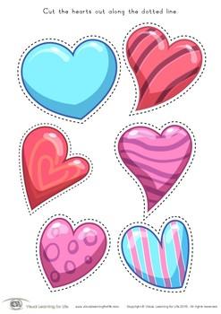 Valentine Heart Cutting Practice