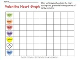 Valentine Heart Graph and Sort Sheet