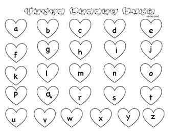 Valentine Heart Letter Find