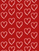 Valentine Heart Papers and Stamps Clip Art - Whimsy Workshop Teaching