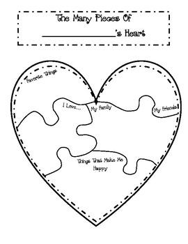 Valentine Heart Pieces