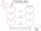 Valentine Heart Poem with Nouns and Adjectives