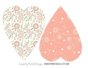Valentine Heart Printable Banner