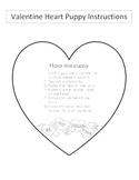 Valentine Heart Puppy