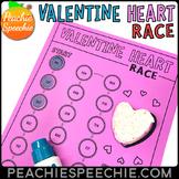 Valentine Heart Race - Articulation Speech Therapy