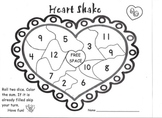 Valentine Heart Shake Math Game