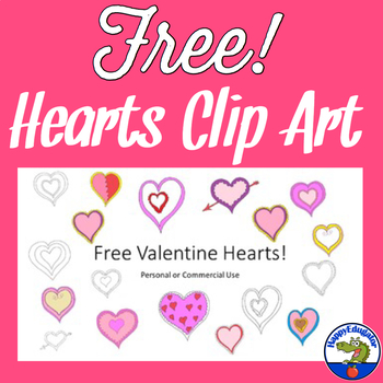 Valentines Day Clip Art - Free Hearts