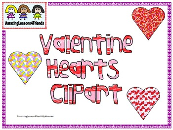 Valentine Hearts Clipart