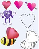 Valentine Hearts Clipart