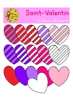 Valentine Hearts - Coeurs de la Saint-Valentin