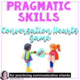 Valentines Day Speech Therapy Conversation Hearts Game