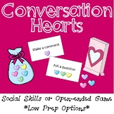 Valentine's Day FREE Conversation or Open Ended Game - Low