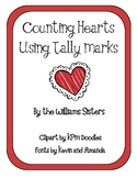 Valentine Hearts Counting with Tally Marks