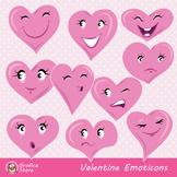 Valentine Hearts Emoticons