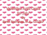 Valentine Hearts Flash Cards for Initial /sh/ Articulation
