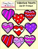 Valentine Hearts Freebie