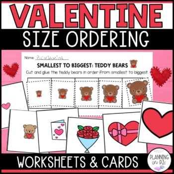 Valentine Hearts: From Smallest to Largest