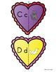 Valentine Hearts Letter Sound Match