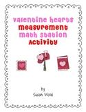 Valentine Hearts Measurement