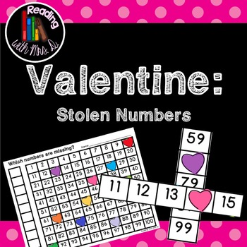 Valentine Hearts Missing Stolen Numbers