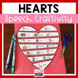 Valentine's Day Heart Speech Craft