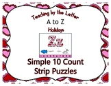 Valentine Hearts ~ Teaching by the Letter Holiday Strip Nu