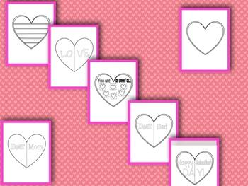 Valentine Hearts Templates