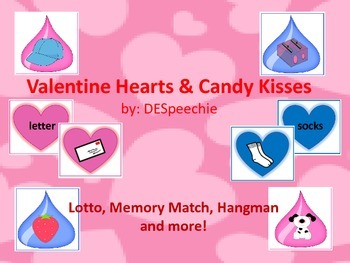 Valentine Hearts and Candy Kisses - Articulation and Langu