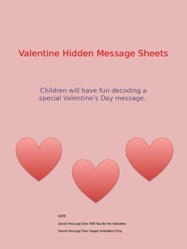 Valentine Hidden Messages