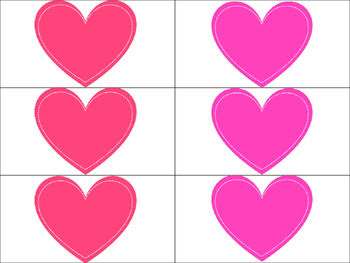Valentine: High Frequency Words