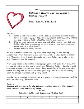 Valentine Holder and Expository Writing Project