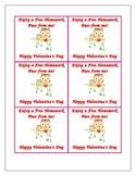 Valentine Homework Pass for Students