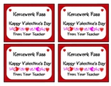 Valentine Homework Passes for your little Valentines