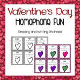 Valentine Homophone Game