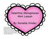 Valentine Homophones Center