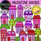 Valentine House Clipart {Valentine Clipart}