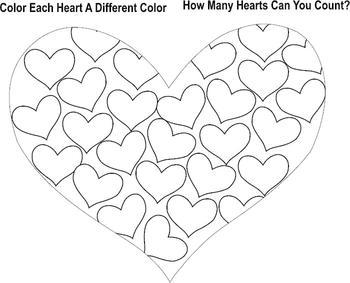 Valentine How Many Hearts ** ORIGINAL ARTWORK