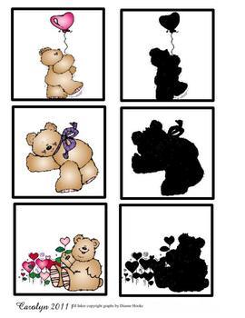 Valentine Hug Shadow Match