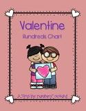 Valentine Hundreds Chart
