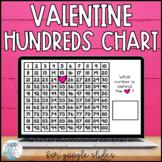 Valentine's Day Hundreds Chart for Google Slides™