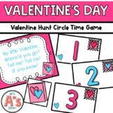 Valentine Hunt Circle Time Game