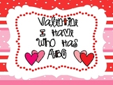 "Valentine ""I Have Who Has ABC"""