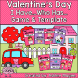 Valentine I Have, Who Has Ready-to-Print Game and Editable