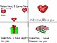 Valentine, I Love You Booklet & Matching Activity