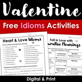 Valentine Idioms