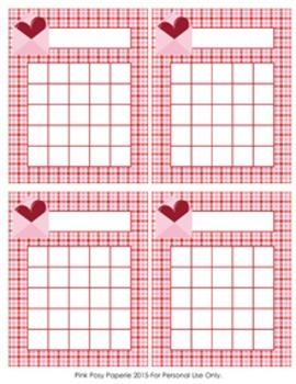 Valentine Incentive Reward Charts