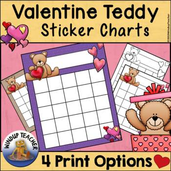 Valentine Incentive Reward Charts Bundle